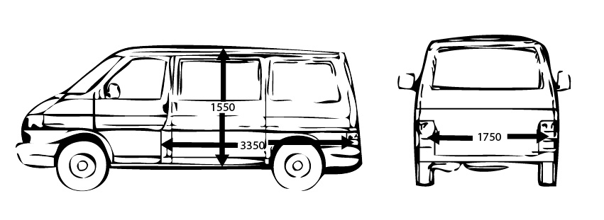 bus oder transporter mieten