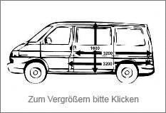 Foto Mercedes Sprinter Bus Maße