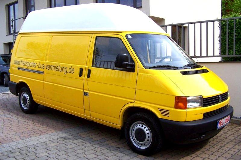 bus oder transporter mieten transporter bus vermietung in coswig. Black Bedroom Furniture Sets. Home Design Ideas